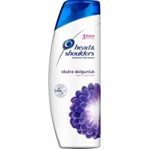 შამპუნი head  shoulders ekstra dolgunluk 500გრ