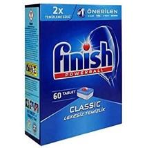 ჭურჭლის სარეცხი საშუალება finish ტაბლეტი 60ც