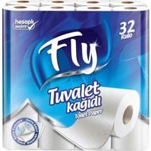 ტუალეტის ქაღალდი FLY 32ც