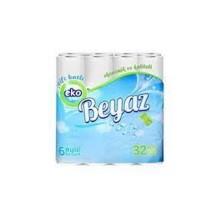 ტუალეტის ქაღალდი ეკო ბეიაზ 32ცალიანი
